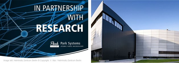 Helmholtz Zentrum Berlin и Park Systems начинают сотрудничество