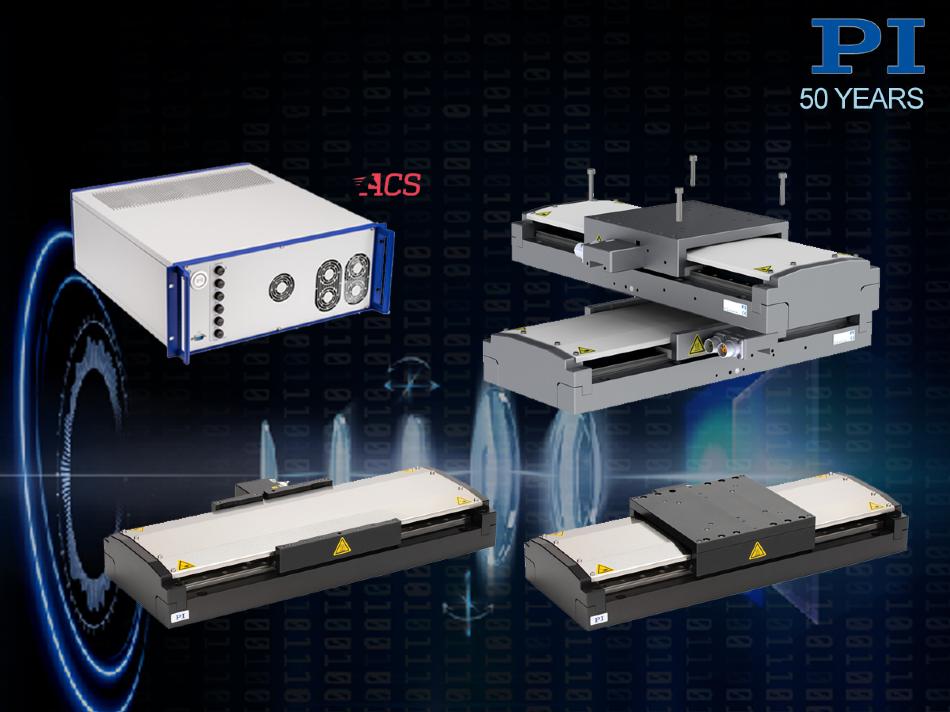 Новые каскады линейных двигателей для высоких нагрузок / прецизионных промышленных приложений и новые контроллеры движения EtherCat