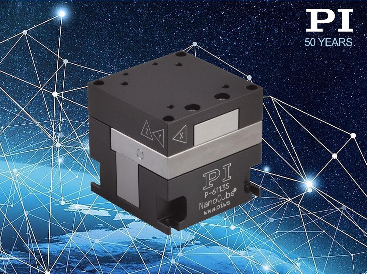 Пьезоуправляемый нанопозиционер XYZ компании PI позволяет использовать настольный нанопринтер BPL