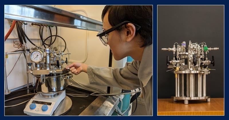 Реактор высокого давления улучшает разработку новых катализаторов