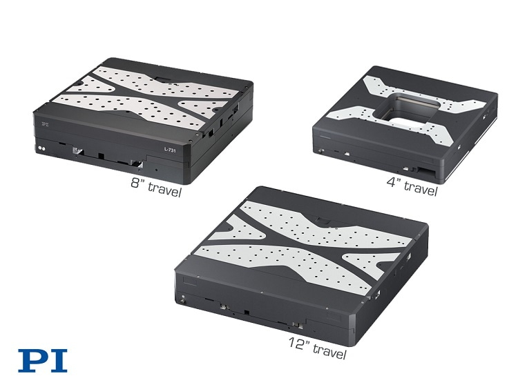 "Семейство прецизионных линейных рамок XY Single Module Precision доступно в 4 "", 8"", 12 ""ходах"