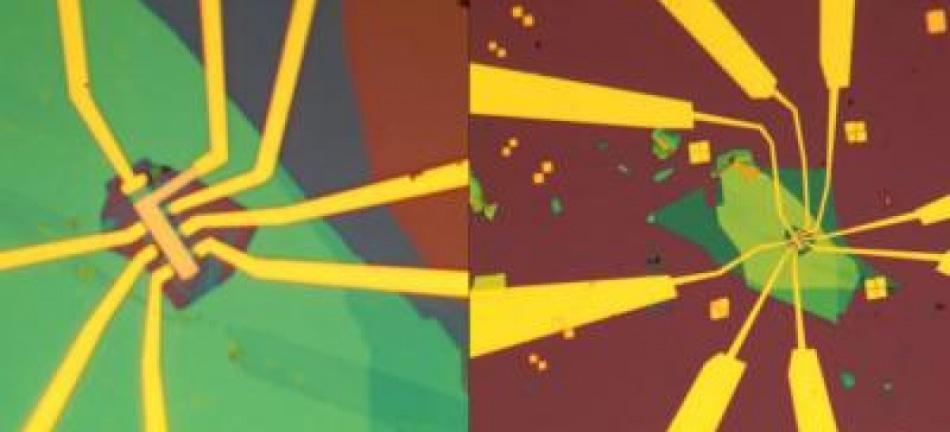 Уникальное устройство, объединяющее графен и нитрид бора, может переключаться с сверхпроводящего на изолирующий