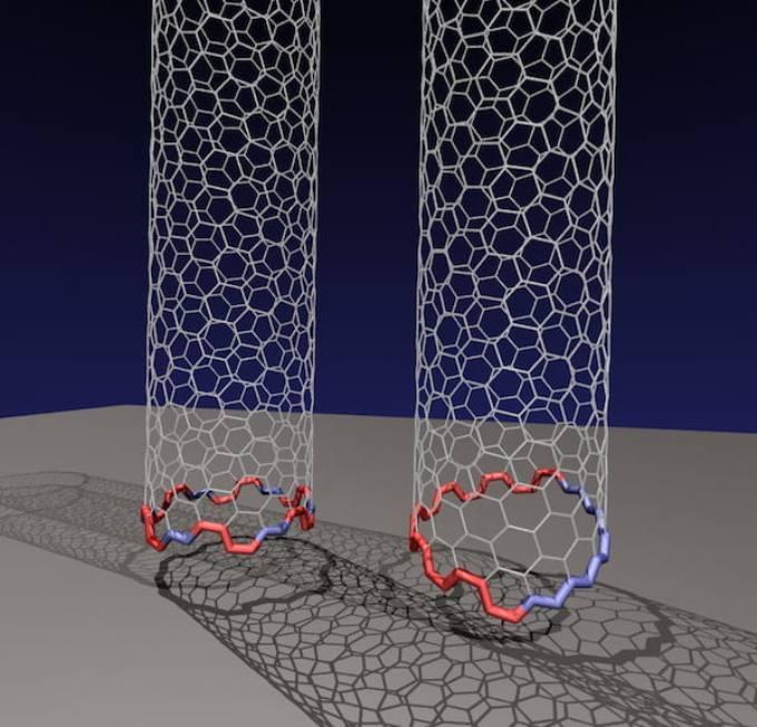 Уникальный интерфейс «Янус» является стандартным механизмом роста углеродных нанотрубок